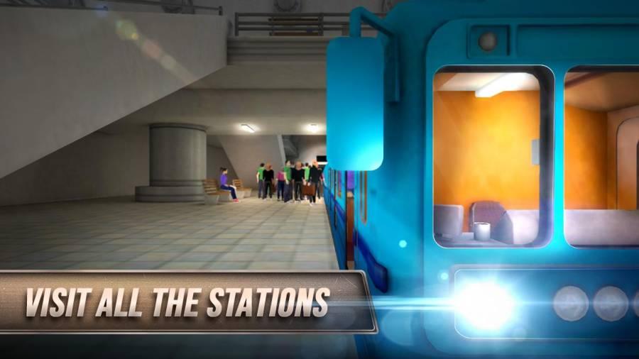 模拟地铁3D:地下司机截图3