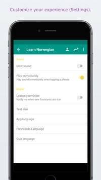 Simply Learn Norwegian截图6
