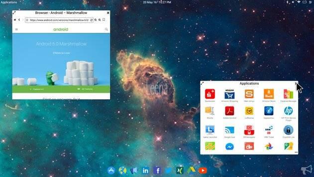 Leena Desktop UI截图3