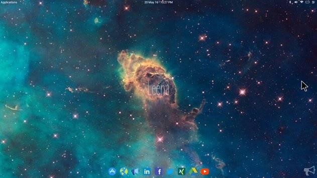 Leena Desktop UI截图7