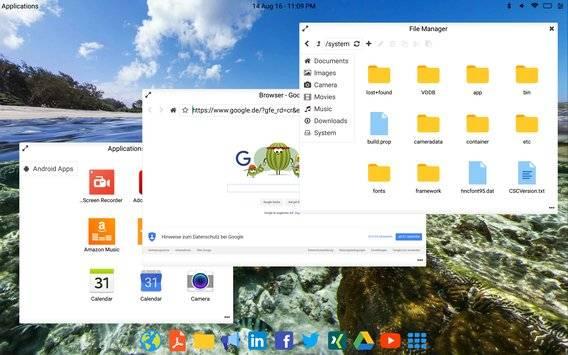 Leena Desktop UI截图8