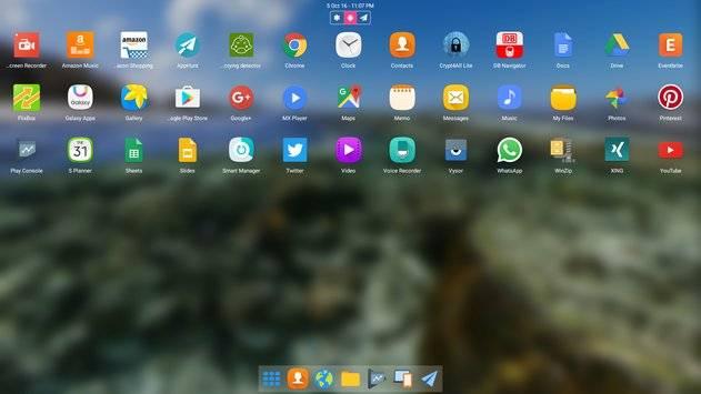 Leena Desktop UI截图9