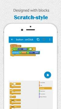 SCRATCH IDE FOR ANDROID APPS