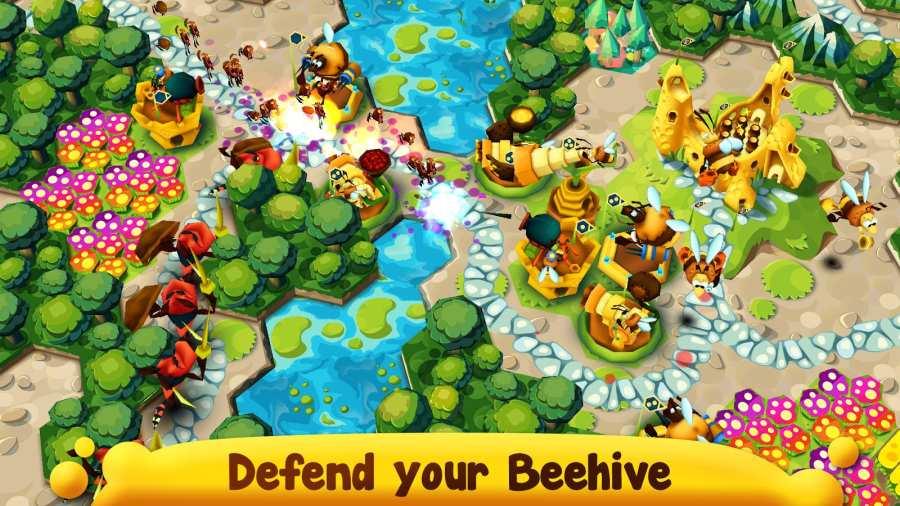 蜂巢要塞防御