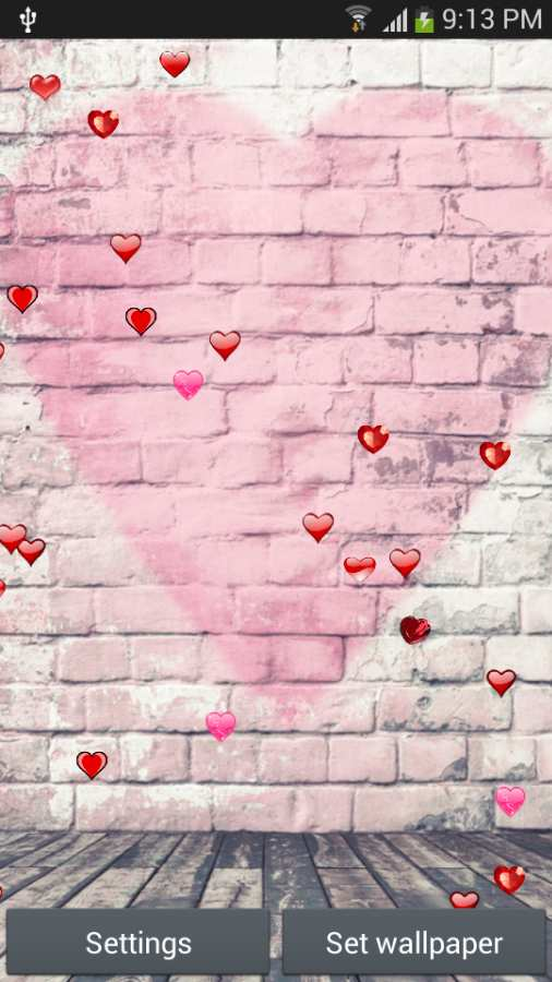 浪漫的动态壁纸