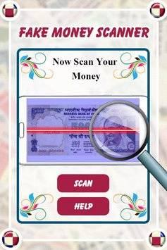 Fake Money Detector Prank截图0