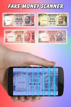 Fake Money Detector Prank截图1
