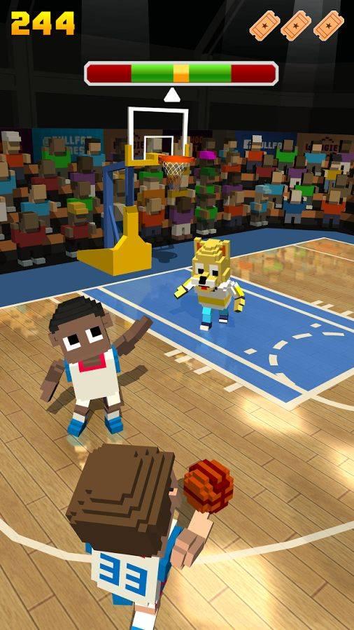 方块篮球截图2