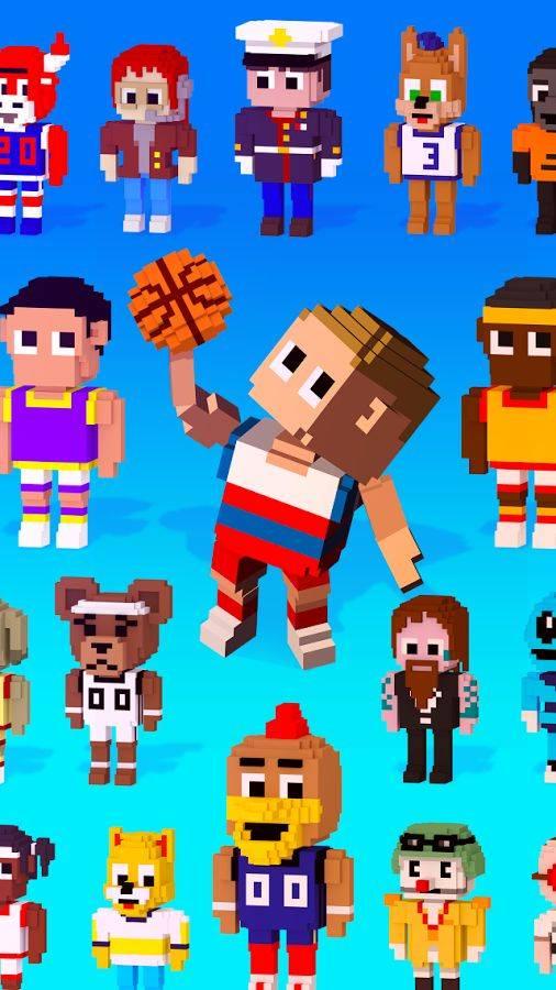 方块篮球截图4