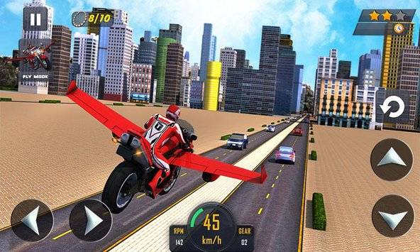 Flying Bike Real Rider 2016截图1