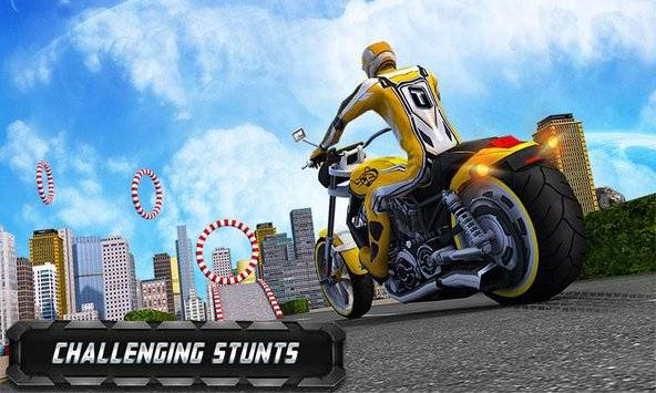 Flying Bike Real Rider 2016截图2