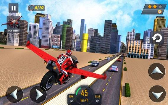 Flying Bike Real Rider 2016截图6