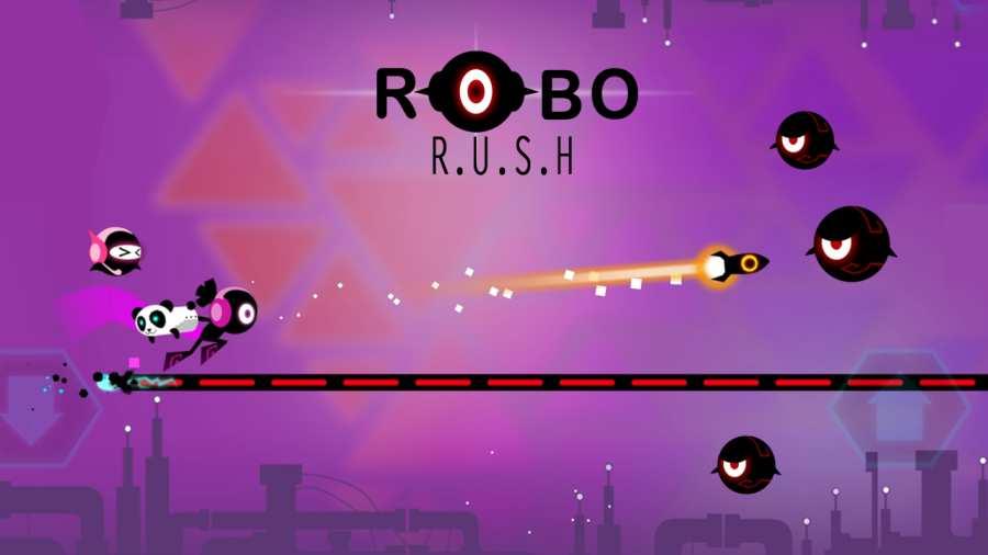 机器人跑酷截图0