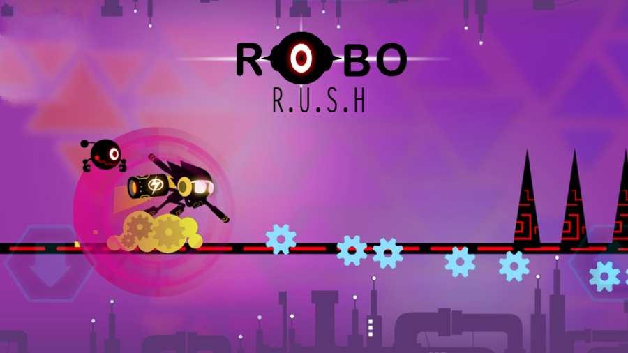 机器人跑酷截图1