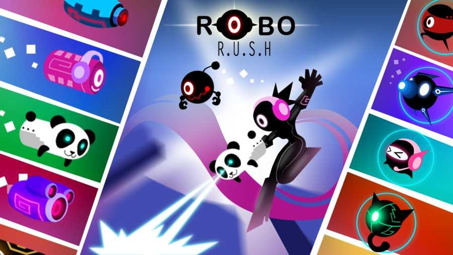 机器人跑酷截图3