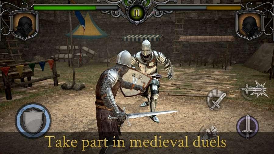 骑士对决:中世纪竞技场截图0