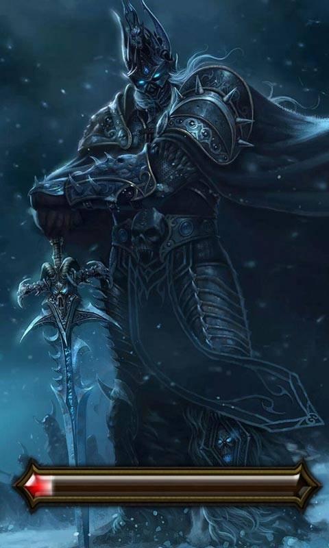 魔兽巫妖王主题锁屏(桌面锁屏动态壁纸)