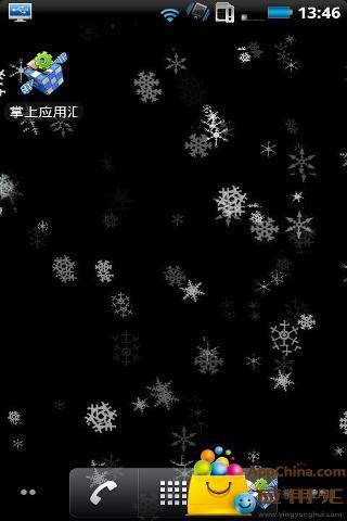 雪花动态壁纸截图1