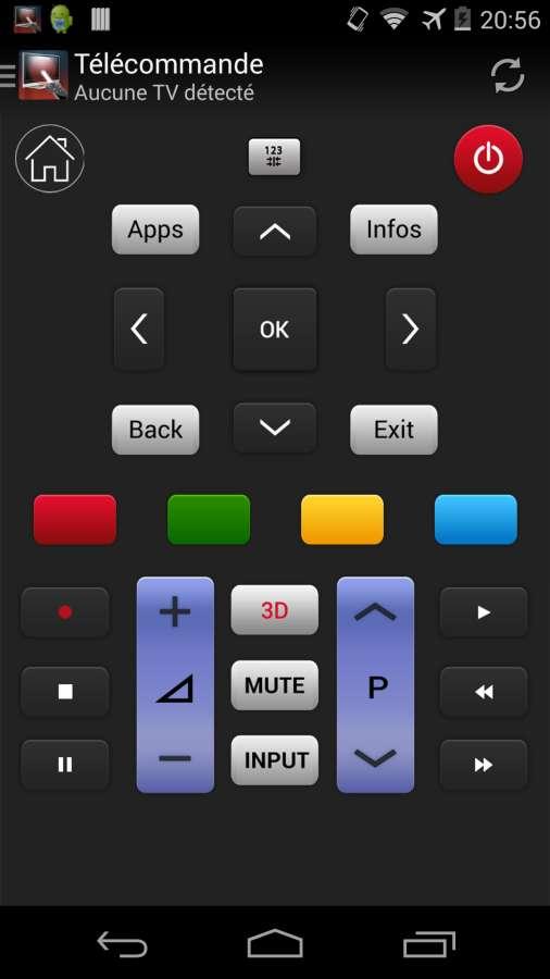 遥控器LG电视截图0