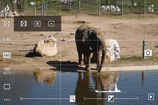 HDR camera zoom