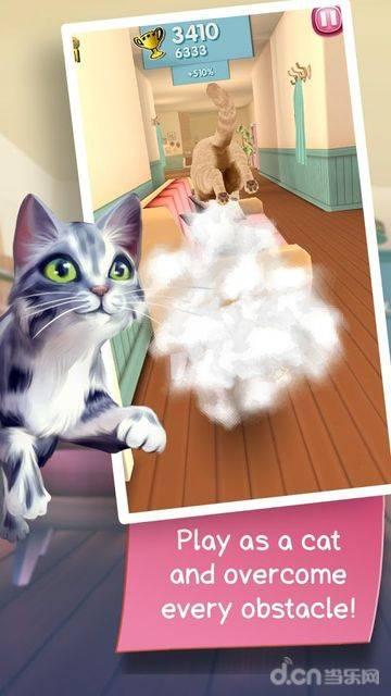 猫咪跑酷截图0