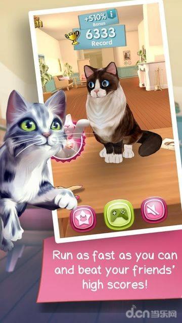 猫咪跑酷截图1