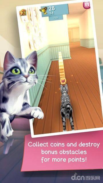 猫咪跑酷截图2