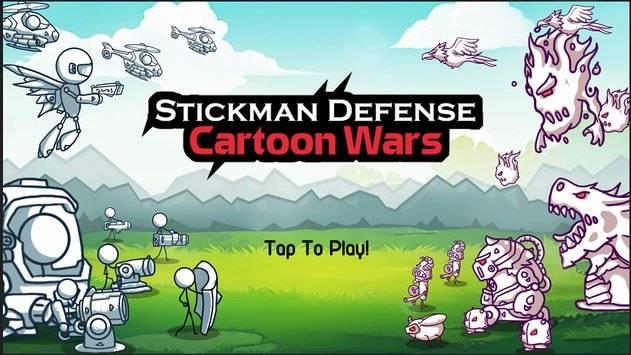 火柴人防御:卡通战争 截图7