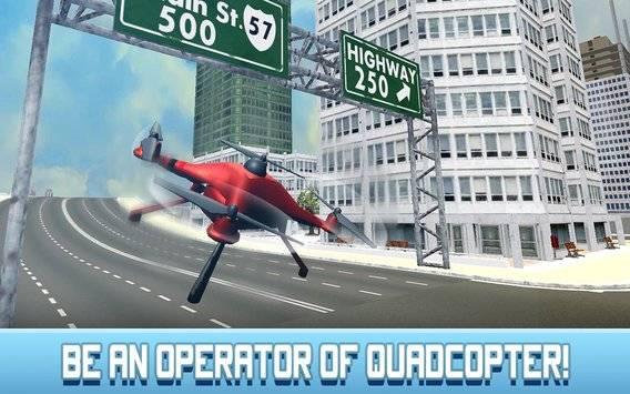 Crime City RC Drone Simulator截图0