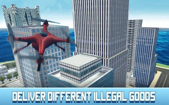 Crime City RC Drone Simulator截图5