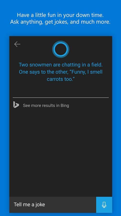 微软小娜预览版:Cortana