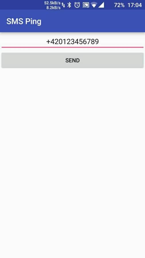 短信Ping:SMS