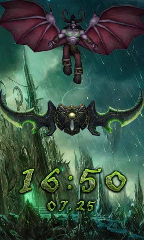 魔兽主题(锁屏桌面壁纸)