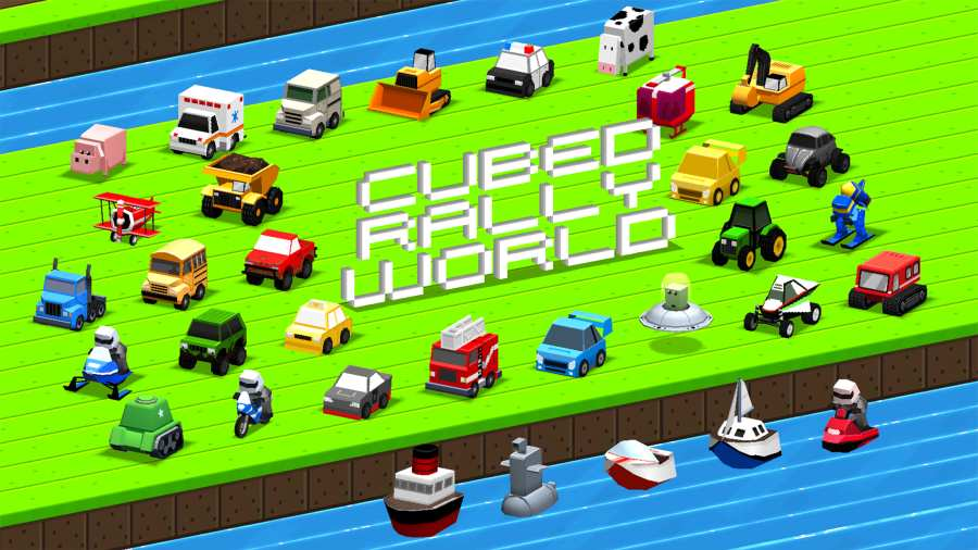 方块赛车世界