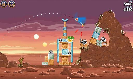愤怒的小鸟:星球大战 Angry Birds Star Wars市场版截图2