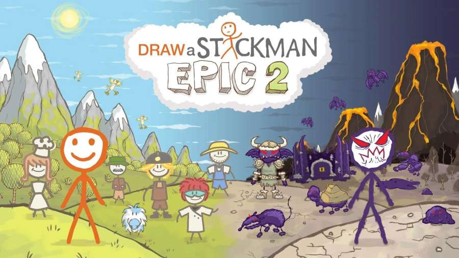 火柴人涂鸦 2 Draw a Stickman:截图1