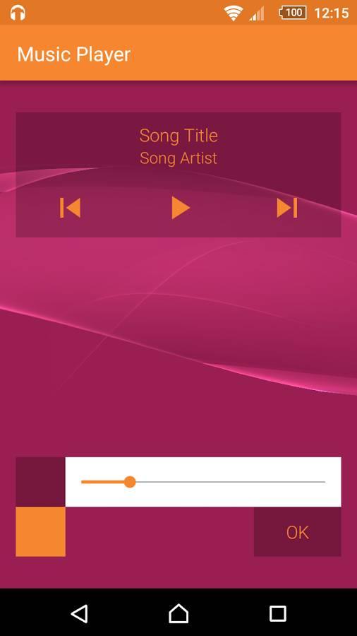 简单音乐播放器:Music截图2