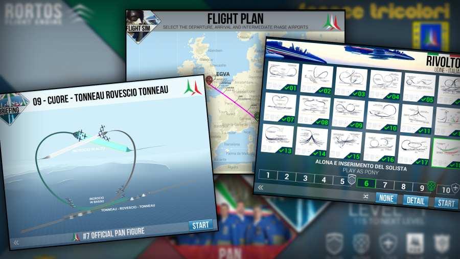 意大利飞行特技模拟截图1