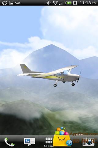 【免費個人化App】3维飞机动态壁纸-APP點子