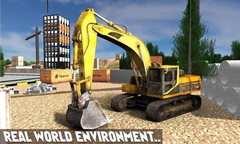 砂挖掘机模拟器3D截图3