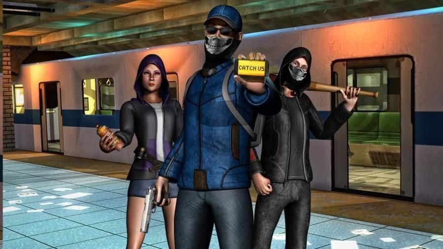 伦敦地铁犯罪小队