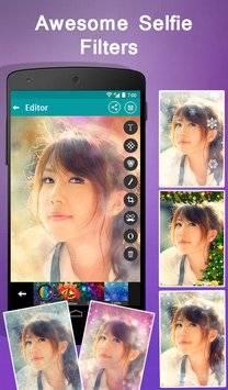 Selfie Cam Expert Photo Editor截图1