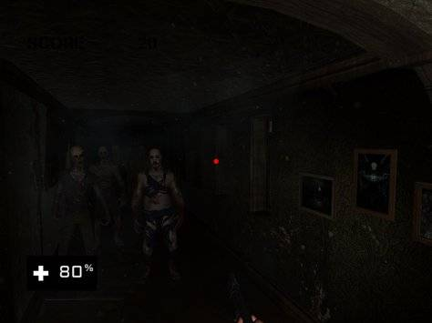 VR Haunted House 3D截图10