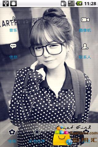 YOO主题-乐活女孩截图1