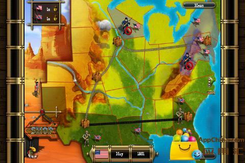 南北士兵大决战截图2