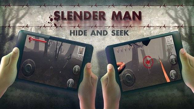 Slenderman Hide & Seek Online截图0