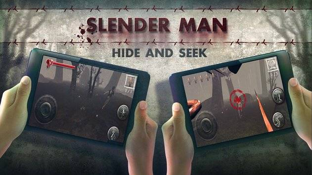 Slenderman Hide & Seek Online截图10