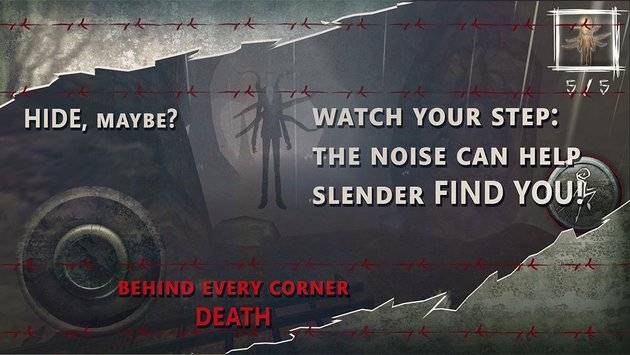 Slenderman Hide & Seek Online截图4