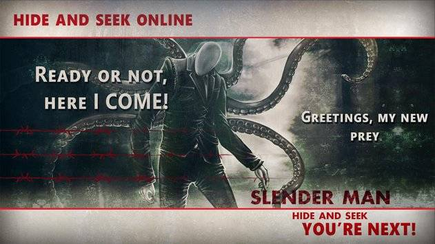 Slenderman Hide & Seek Online截图6