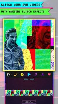 Glitch Art-Video Editor &VHS截图0